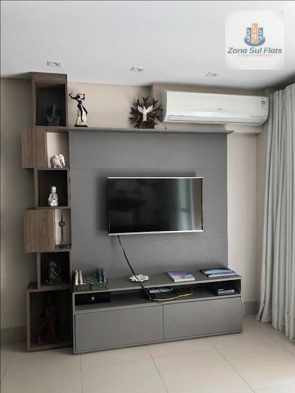 Apartamento Tipo Loft I 1 Quarto I 1 Banheiro I 1 Cozinha I Varanda I 1 Vaga - Área útil: 35 m²