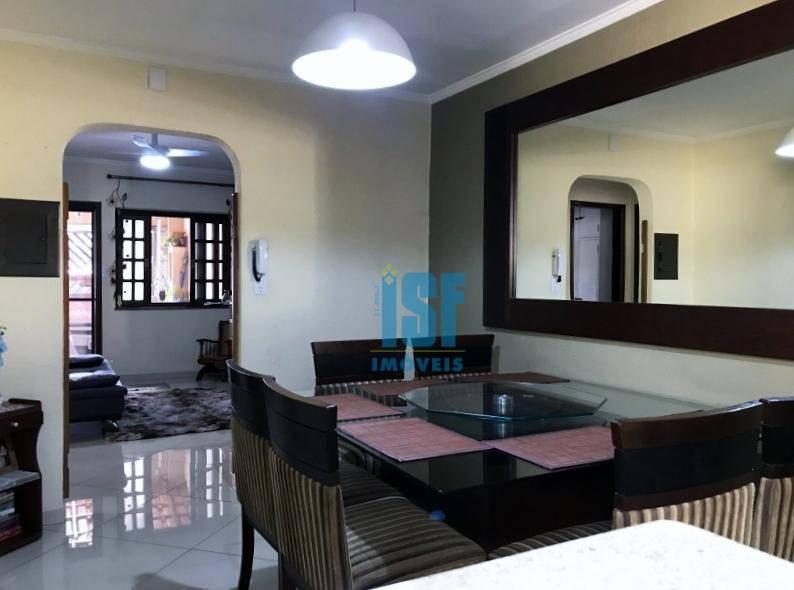 Casa com 3 dormitórios à venda, 125 m² por R$ 580.000 - Vila Quitaúna - Osasco/SP - CA1548.