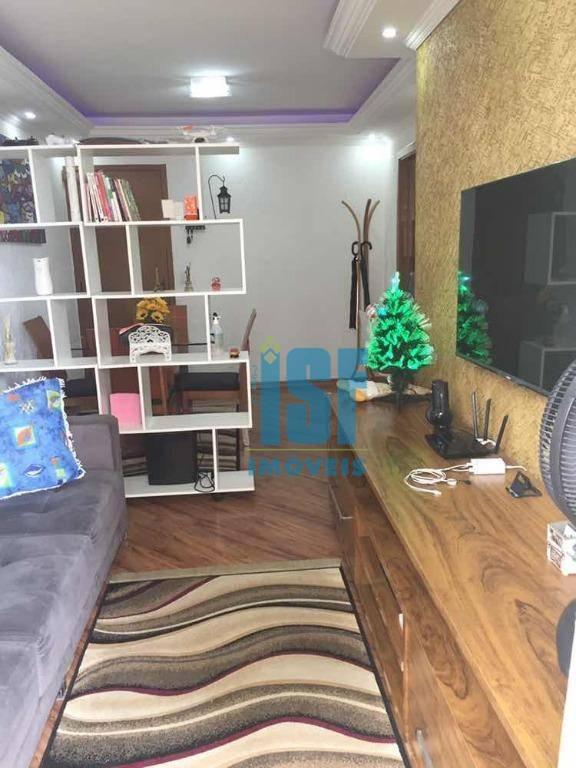 Apartamento com 2 dormitórios à venda, 62 m² por R$ 275.000 - Jaguaribe - Osasco/SP