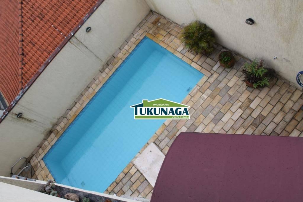 Sobrado residencial para locação, Jardim Santa Mena, Guarulhos.