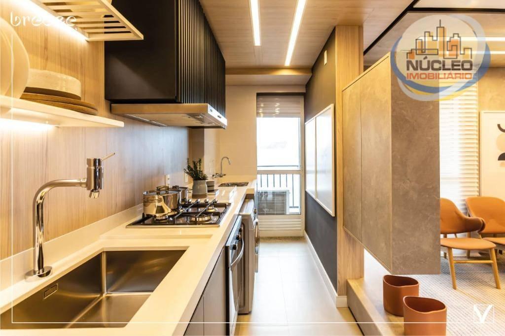 Apartamento com 2 Dormitórios à venda, 58 m² por R$ 348.714,00
