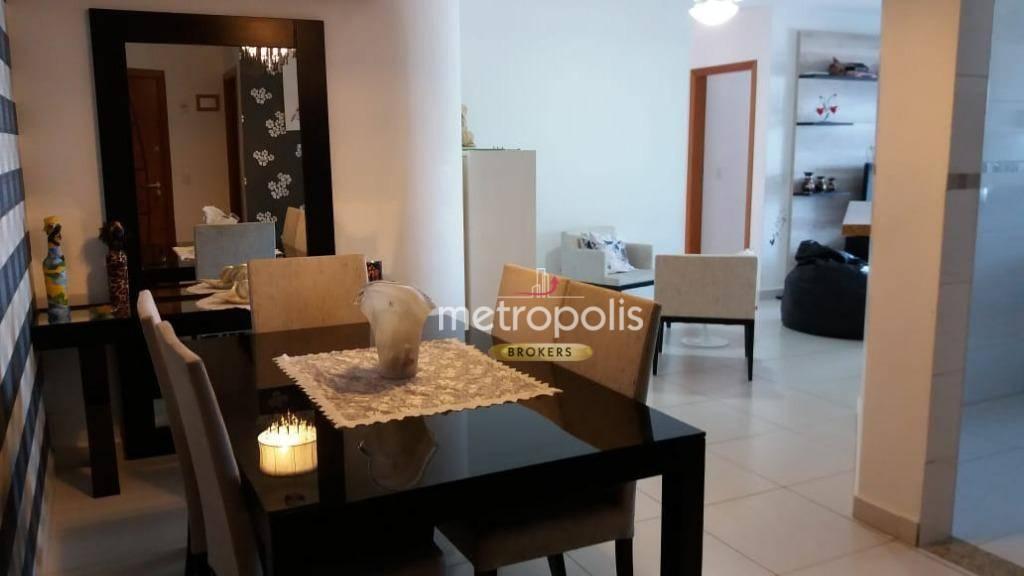 Apartamento com 3 dormitórios à venda, 128 m² por R$ 600.000 - Vila Tupi - Praia Grande/SP