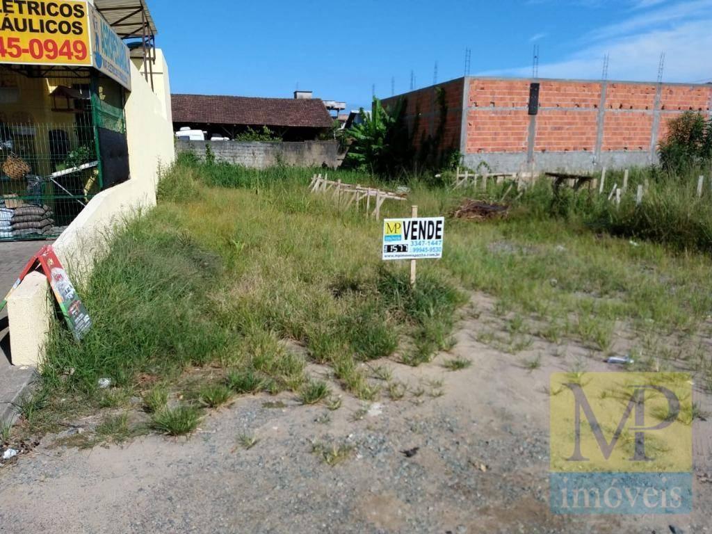 Terreno à venda, 385 m² por R$ 300.000 - São Cristovão - Penha/SC