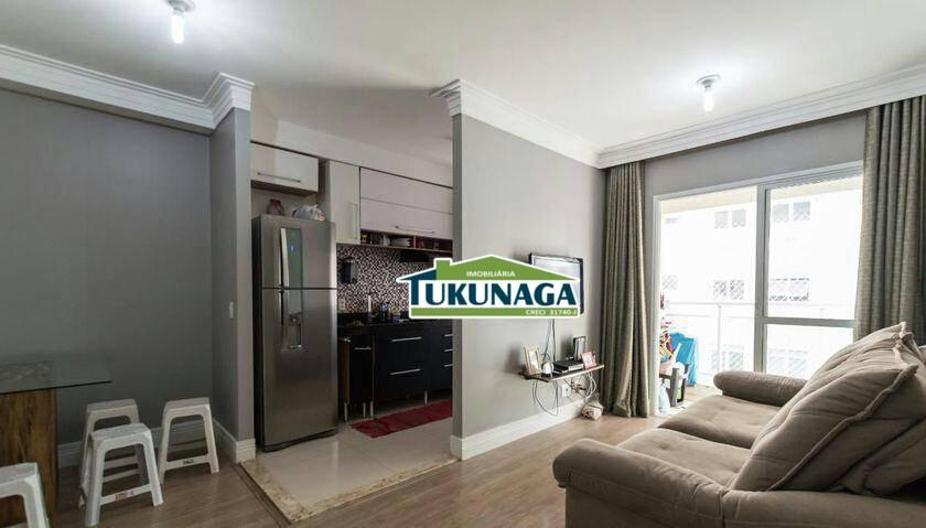 Apartamento com 2 dormitórios à venda, 60 m² por R$ 330.000 - Bethaville I - Barueri/SP
