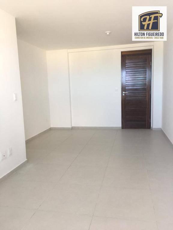 Apartamento com 2 dormitórios para alugar, 65 m² por R$ 1.700/mês - Jardim Oceania - João Pessoa/PB