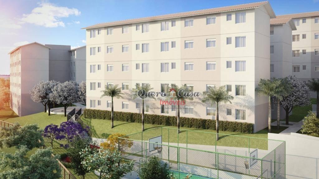Apartamento residencial à venda, Jardim Albertina, Guarulhos