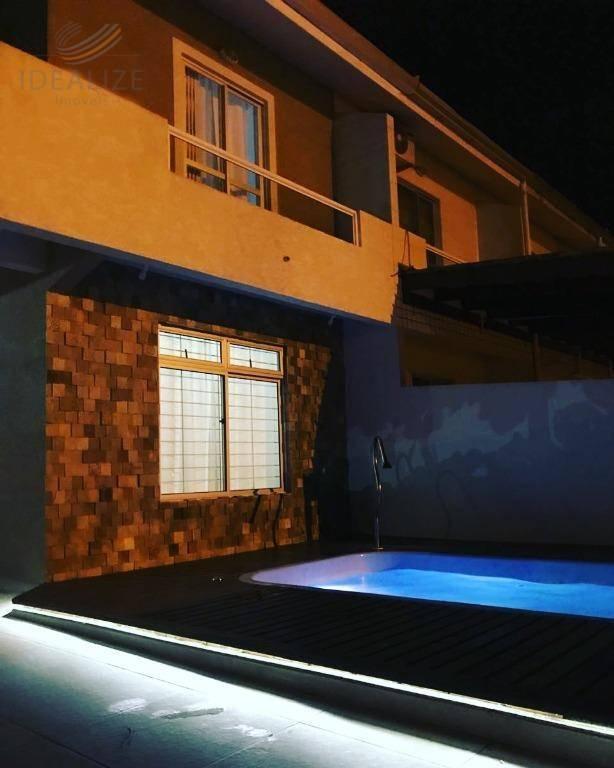 Sobrado residencial à venda, Centro, Guaratuba.