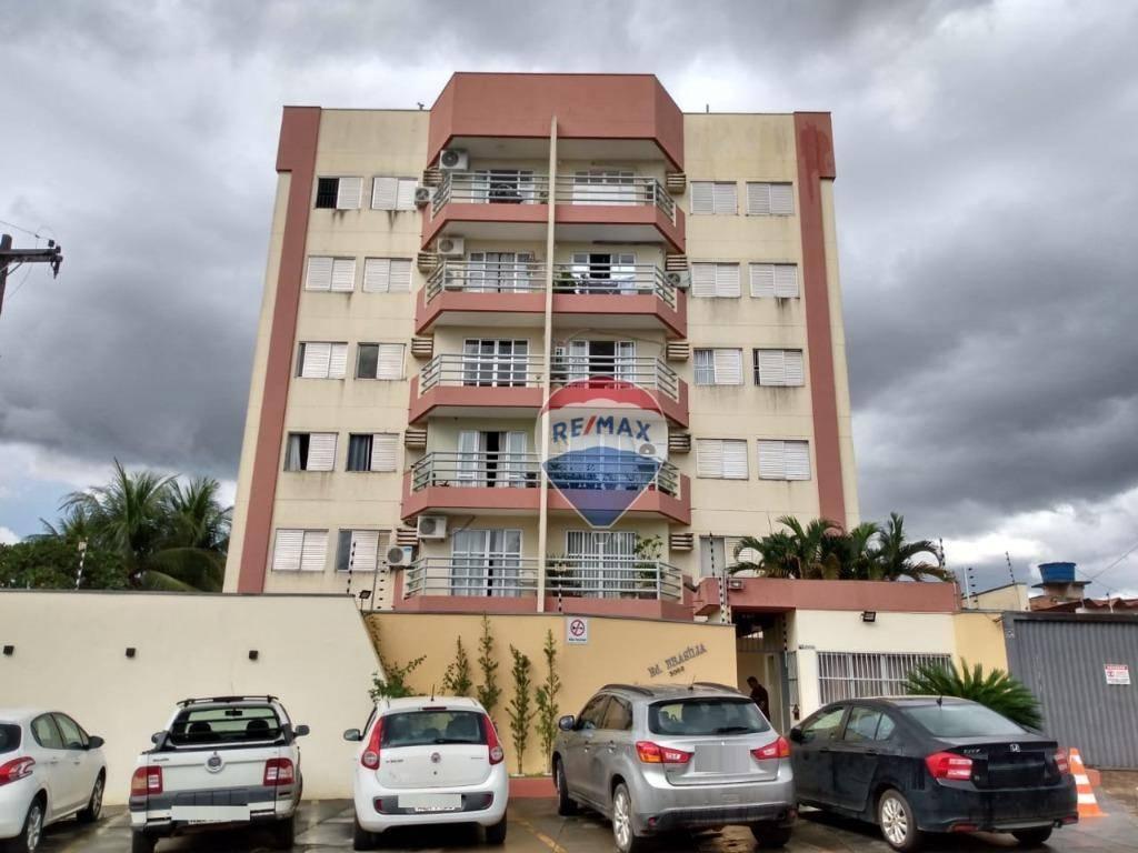 Apartamento com 3 dormitórios para alugar, 86 m² por R$ 1.400,00/mês - São Cristóvão - Porto Velho/RO