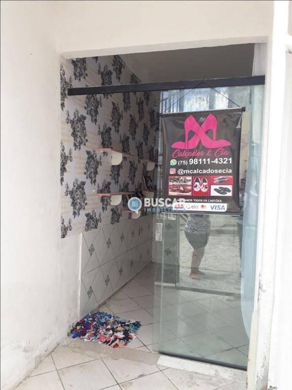 Sobrado com 2 dormitórios à venda, 67 m² por R$ 59.000 - Parque Ipê - Feira de Santana/BA