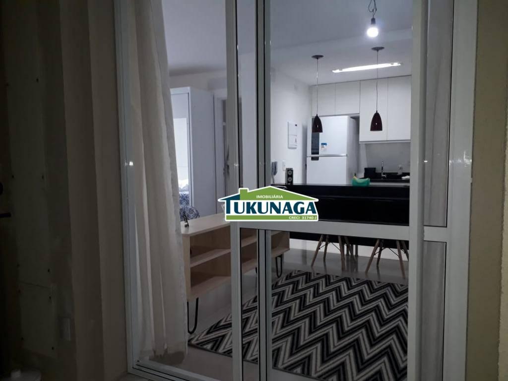 Studio com 1 dormitório para alugar, 38 m² por R$ 1.800/mês - Jardim Flor da Montanha - Guarulhos/SP