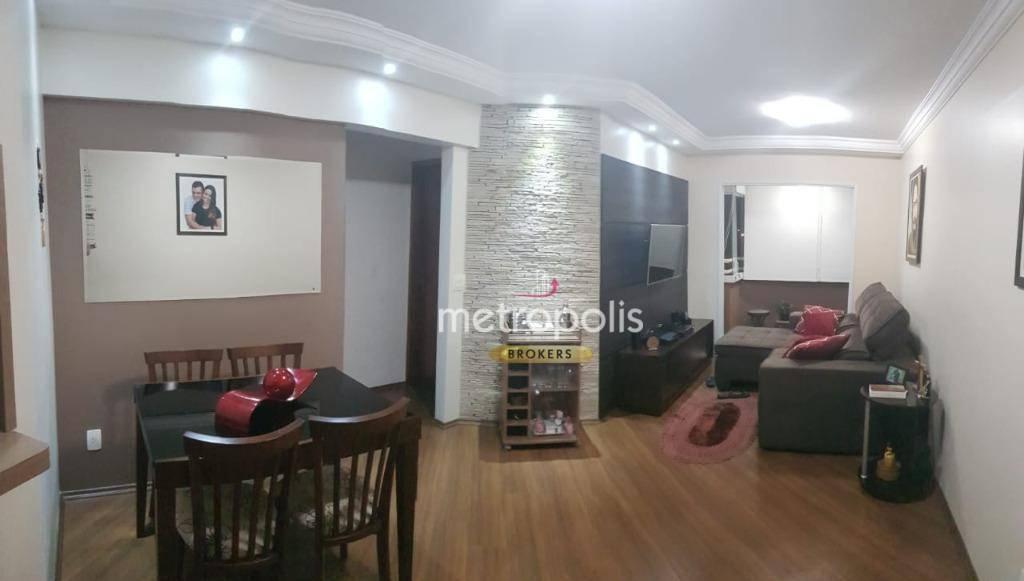 Apartamento com 2 dormitórios à venda, 70 m² por R$ 420.000 - Santa Maria - São Caetano do Sul/SP