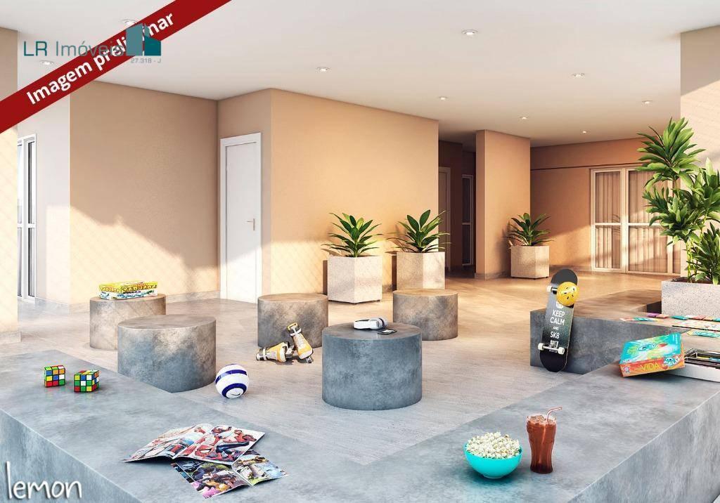 Apartamento com 2 dormitórios à venda, 47 m² por R$ 255.000,00 - Vila Rosália - Guarulhos/SP