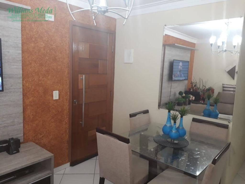 Apartamento com 2 dormitórios à venda, Vila Galvão - Guarulhos.