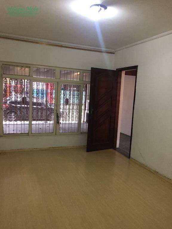 Sobrado residencial para locação, Ponte Grande, Guarulhos.