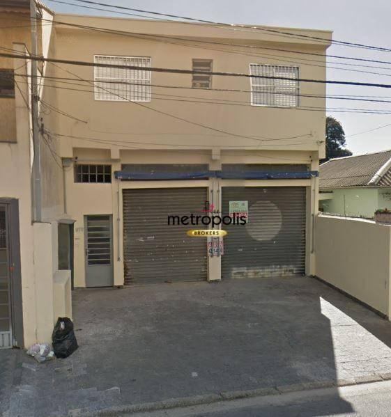 Galpão para alugar, 150 m² por R$ 3.800/mês - Boa Vista - São Caetano do Sul/SP