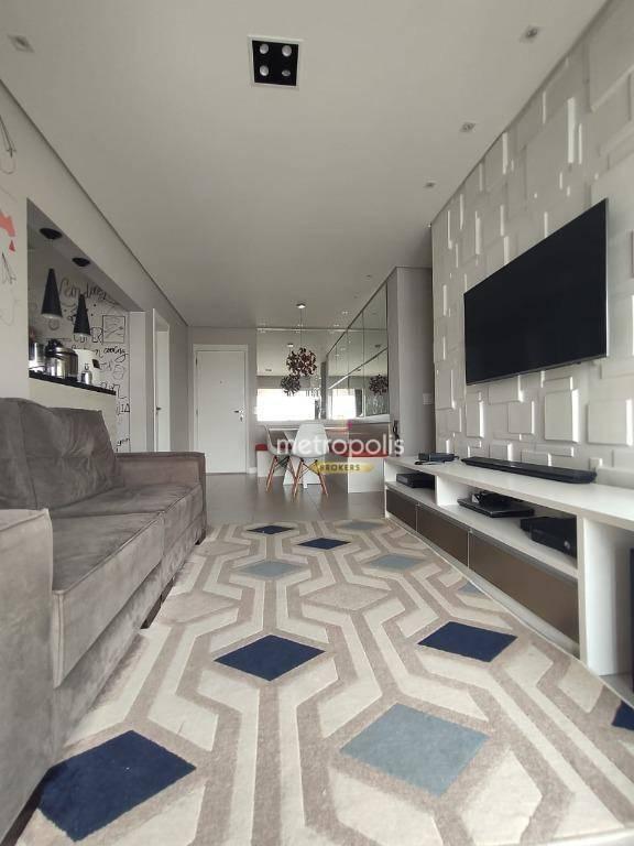 Apartamento com 3 dormitórios à venda, 90 m² por R$ 950.000,00 - Cerâmica - São Caetano do Sul/SP