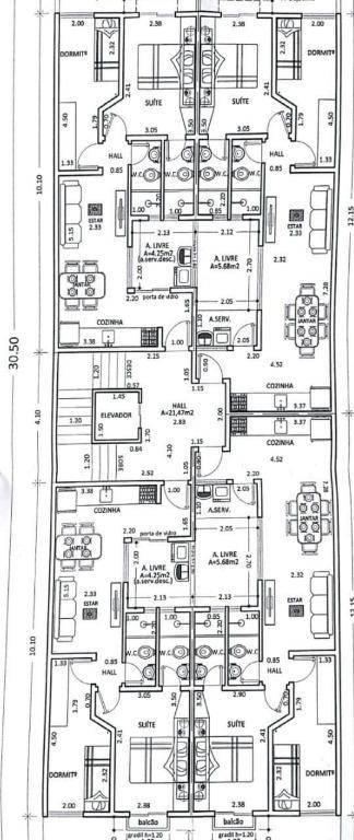 Apartamento à venda, 100 m² por R$ 425.000,00 - Centro - Santo André/SP
