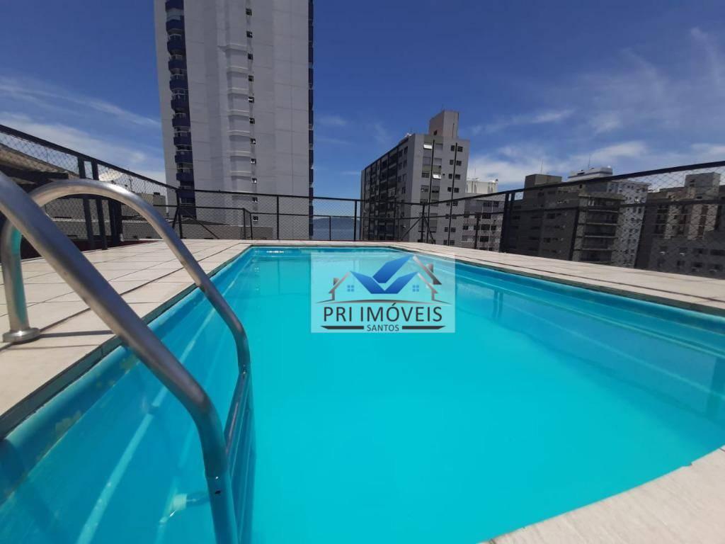 Apartamento com 1 dormitório à venda, 52 m² por R$ 265.000 - Itararé - São Vicente/SP