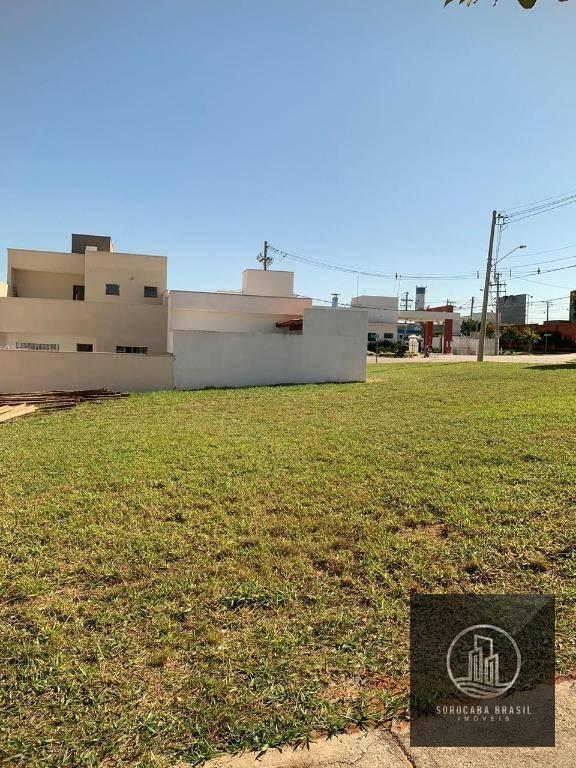 Terreno à venda, 160 m² por R$ 115.000 - Condomínio Terras de São Francisco - Sorocaba/SP