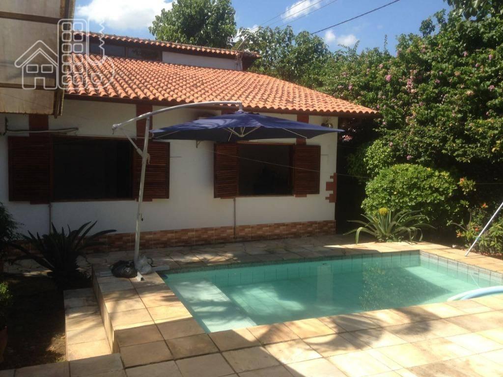 Casa residencial à venda, em Condomínio Ubá em Pendotiba, Niterói.