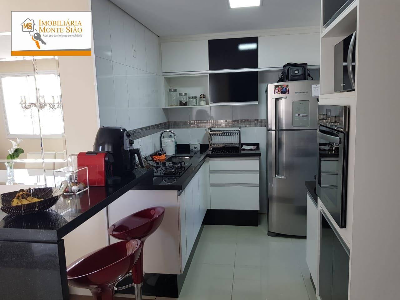 Apartamento com 2 dormitórios, 67 m² - Vila Augusta - Guarulhos/SP