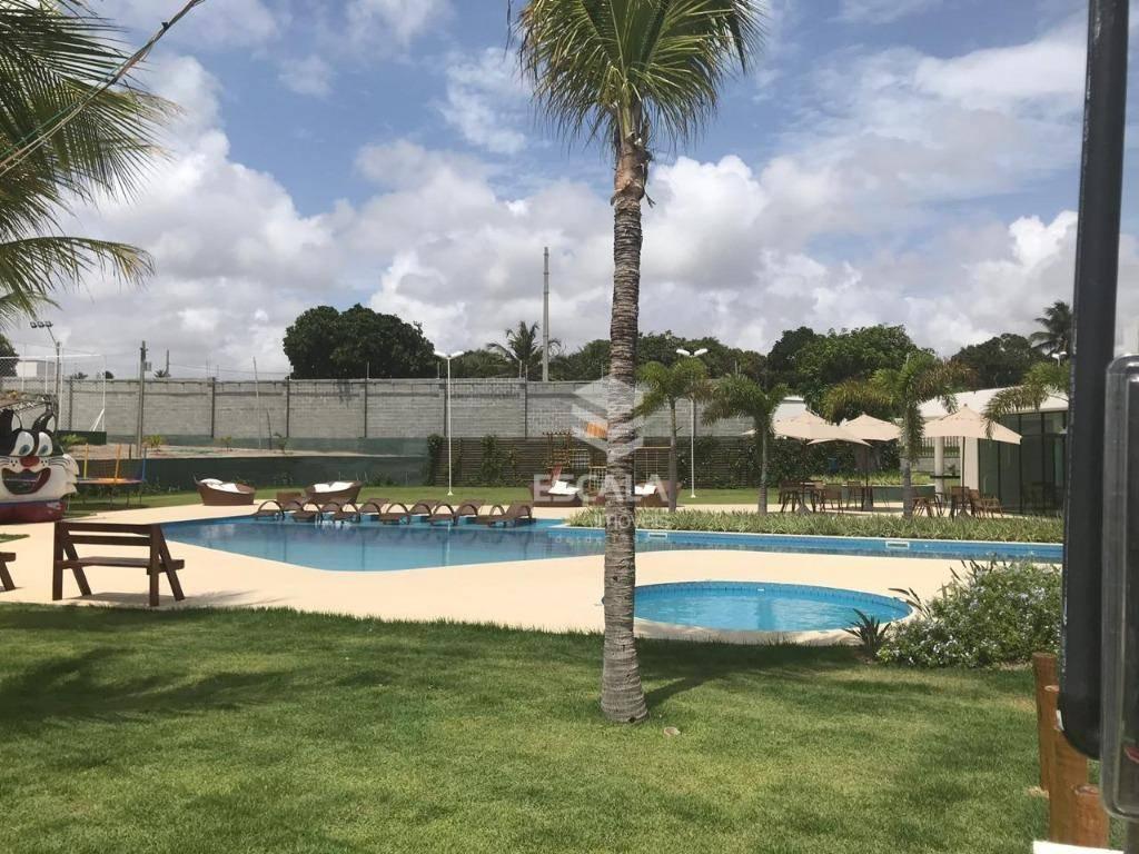 Lote à venda Jardins das Dunas, 259 m², condomínio fechado, financia - Mangabeira - Eusébio/CE