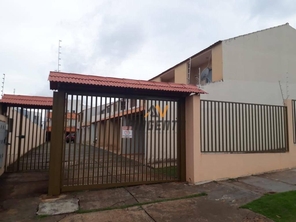 Sobrado com 2 dormitórios à venda, 74 m² por R$ 210.000 - Cancelli - Cascavel/PR