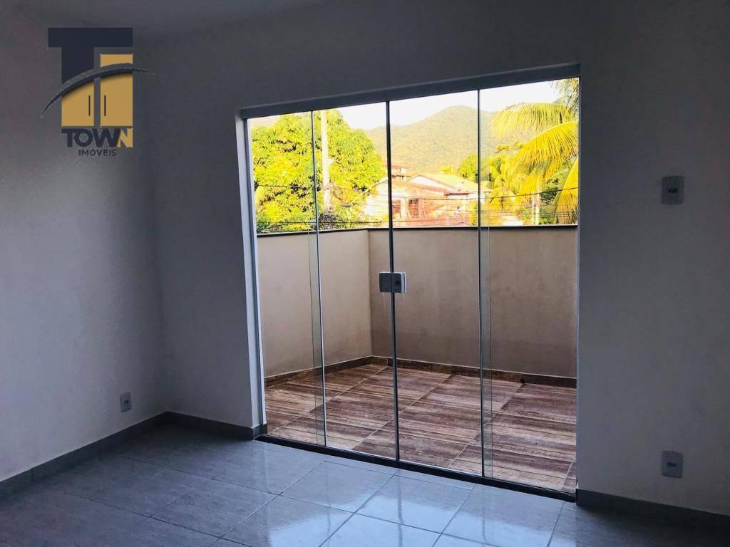 Flat com 1 dormitório para alugar, 40 m² por R$ 1.000,00/mês - Itaipu - Niterói/RJ