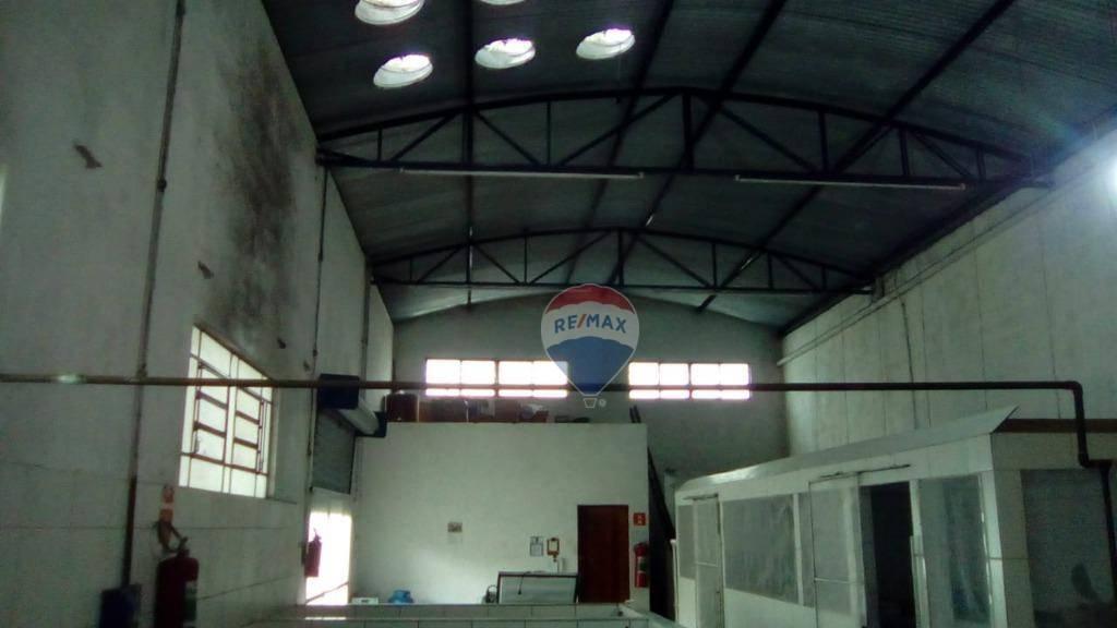 Galpão para alugar, 396 m² por R$ 2.500/mês - Mascate - Nazaré Paulista/SP