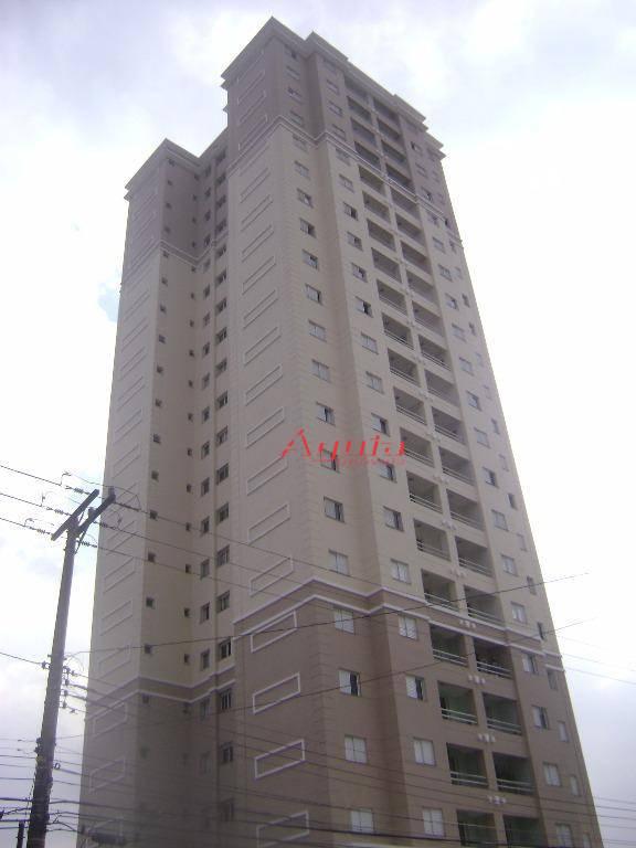 Apartamento residencial à venda, Parque das Nações, Santo André - AP0582.
