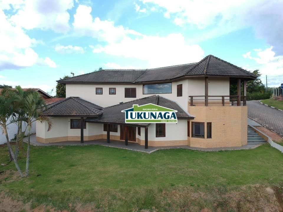 Sobrado com 5 suites à venda, 380 m² por R$ 650.000 - Estância Santa Maria do Laranjal - Atibaia/SP