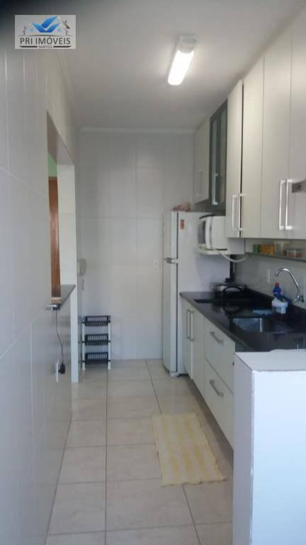 Apartamento com 2 dormitórios à venda, 77 m² por R$ 299.900 - Canto do Forte - Praia Grande/SP