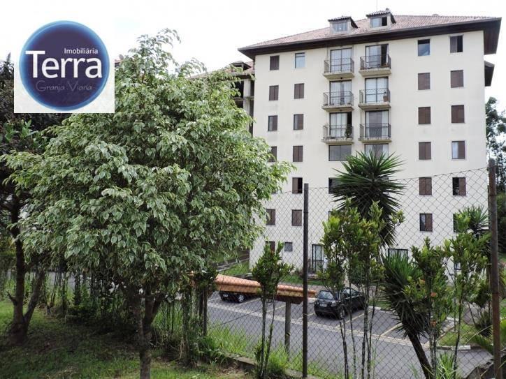 Apartamento  residencial à venda, Hyde Park, Granja Viana.