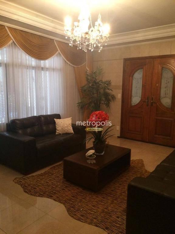 Casa com 3 dormitórios à venda, 206 m² por R$ 1.200.000 - Santa Paula - São Caetano do Sul/SP