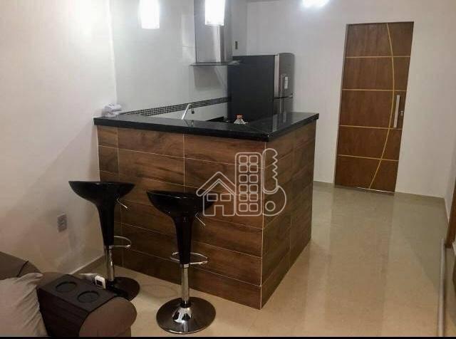 Casa com 1 dormitório à venda, 70 m² por R$ 150.000,00 - Mata Paca - Niterói/RJ