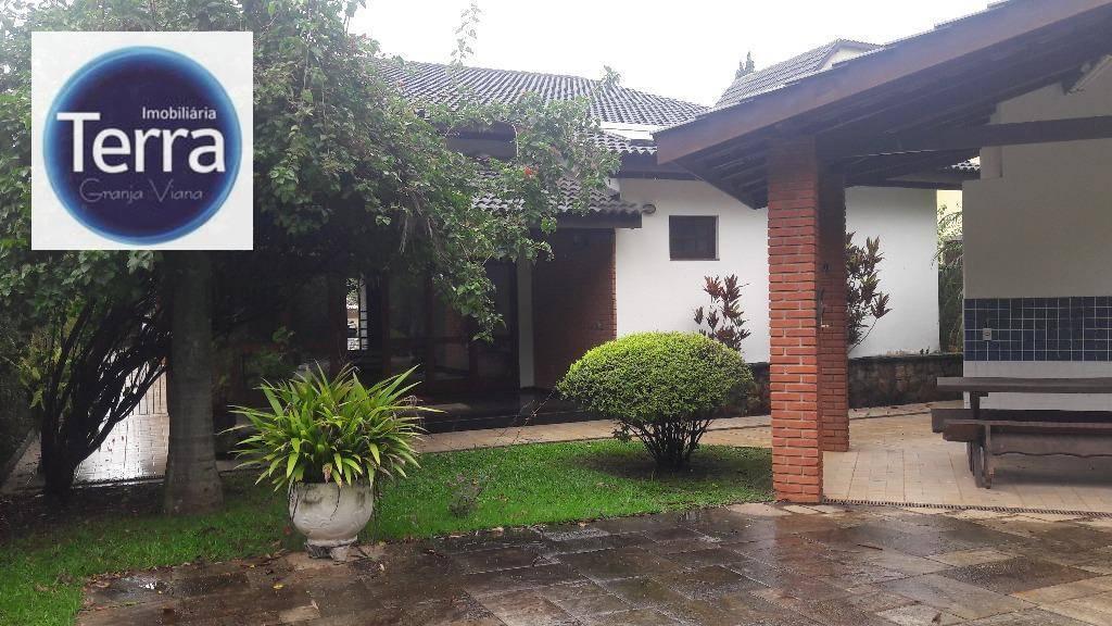 Casa residencial para venda e locação, Residencial Euroville, Granja Viana.