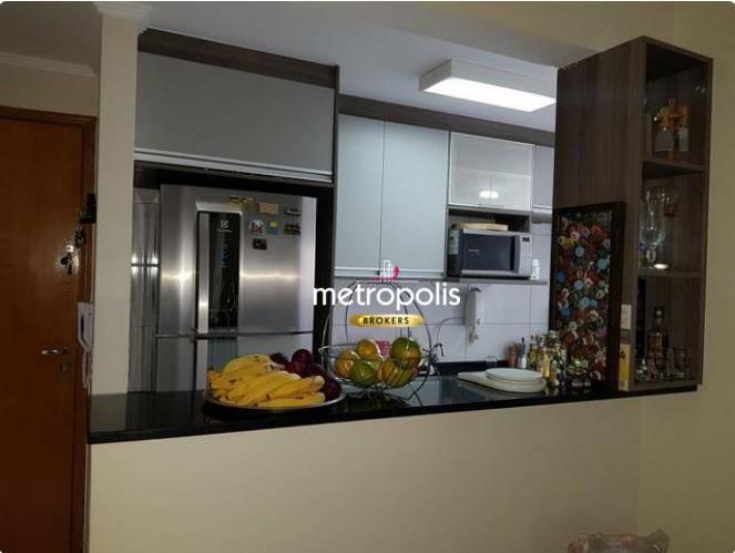 Apartamento com 2 dormitórios à venda, 48 m² por R$ 270.000 - Santa Maria - Santo André/SP
