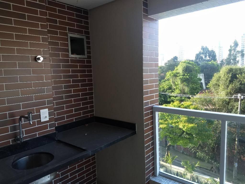 Apartamento com 3 dormitórios à venda, 89 m² por R$ 630.000 - Vila Bastos - Santo André/SP