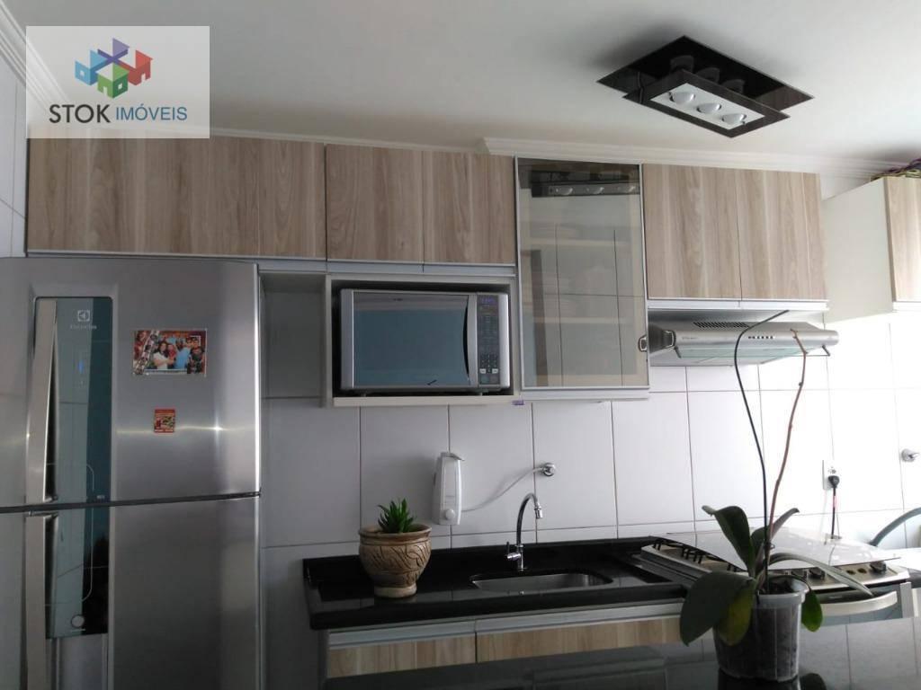 Apartamento com 2 dormitórios à venda, 47 m² por R$ 210.000 - Jardim Vista Alegre - Ferraz de Vasconcelos/SP