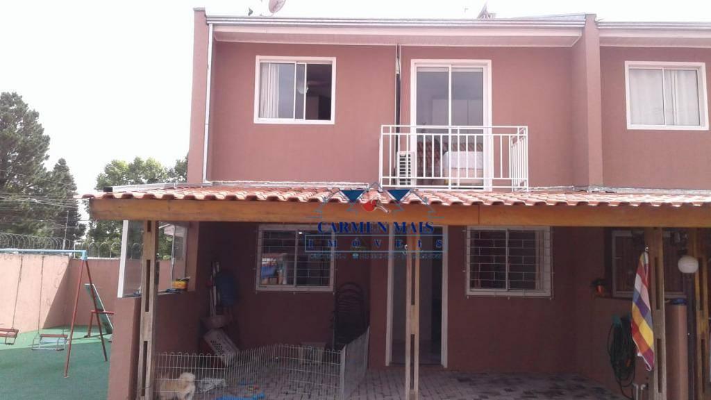 Sobrado 66m² em condominio fechado, no bairro Afonso Pena,