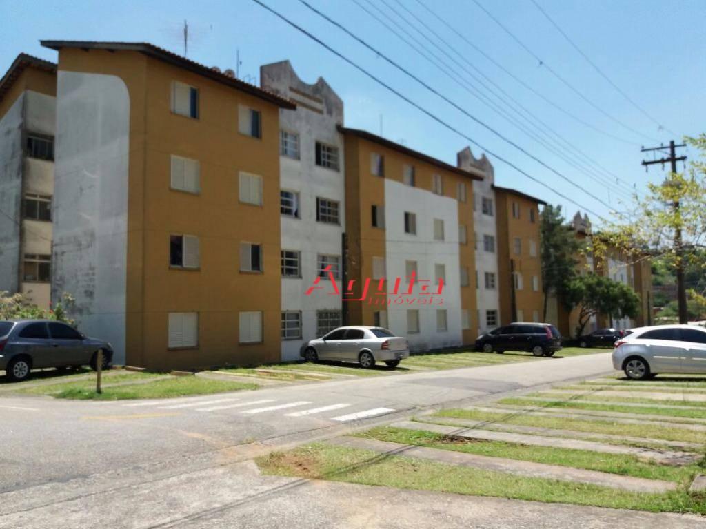 Apartamento residencial à venda, Jardim Santo André, Santo André.
