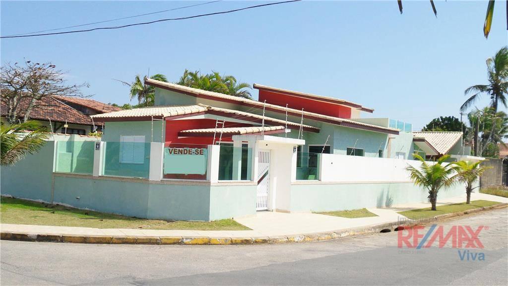 Casa com 4 dormitórios à venda, 220 m² por R$ 850.000 - Cibratel II - Itanhaém/SP