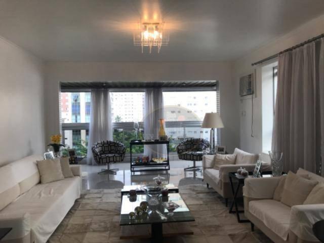Apartamento com 4 dormitórios à venda, 270 m² por R$ 1.200.000 - Vila Rica - Santos/SP