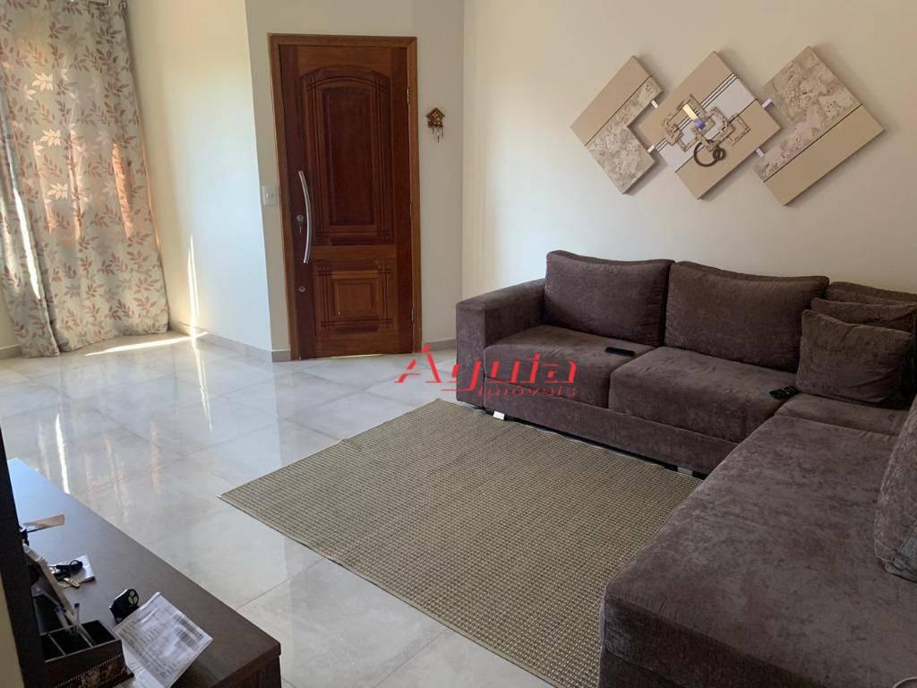 Sobrado com 3 dormitórios à venda, 134 m² por R$ 530.000 - Jardim Rina - Santo André/SP