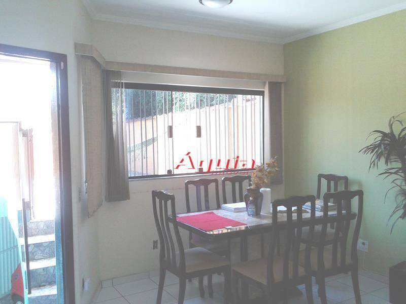 Casa residencial à venda, Parque Novo Oratório, Santo André - CA0166.