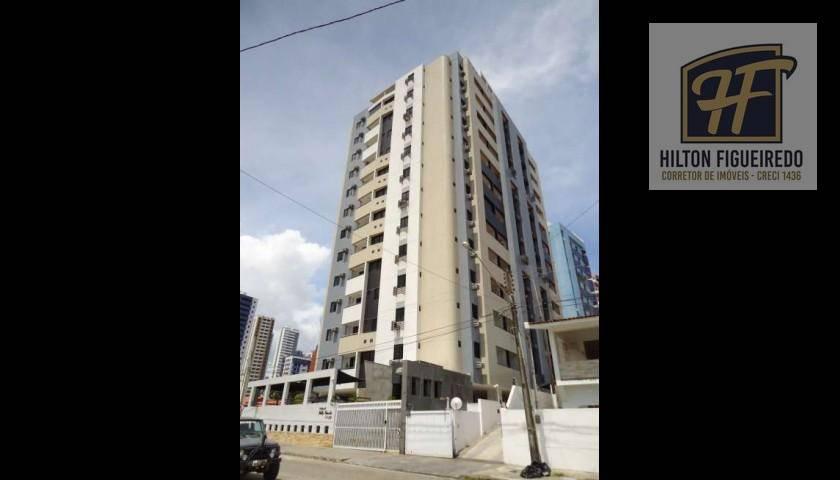 Apartamento com 3 dormitórios para alugar por R$ 2.100,00 - Manaíra - João Pessoa/PB