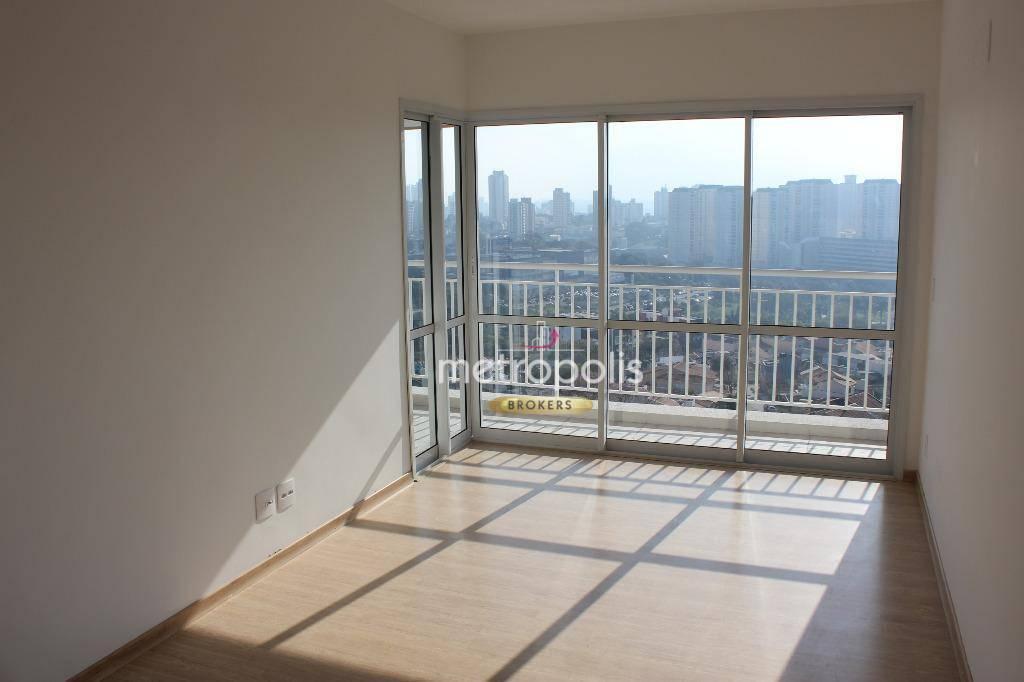 Apartamento com 2 dormitórios para alugar, 71 m² por R$ 2.000,00/mês - Vila Assunção - Santo André/SP
