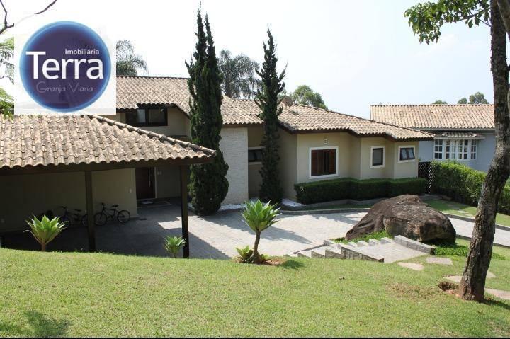 Casa residencial à venda e locação, Parque das Artes, Granja Viana.