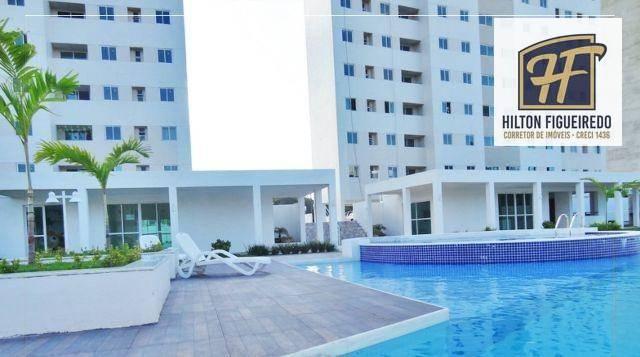 Apartamento com 2 dormitórios à venda, 60 m² por R$ 245.000 - Bancários - João Pessoa/PB