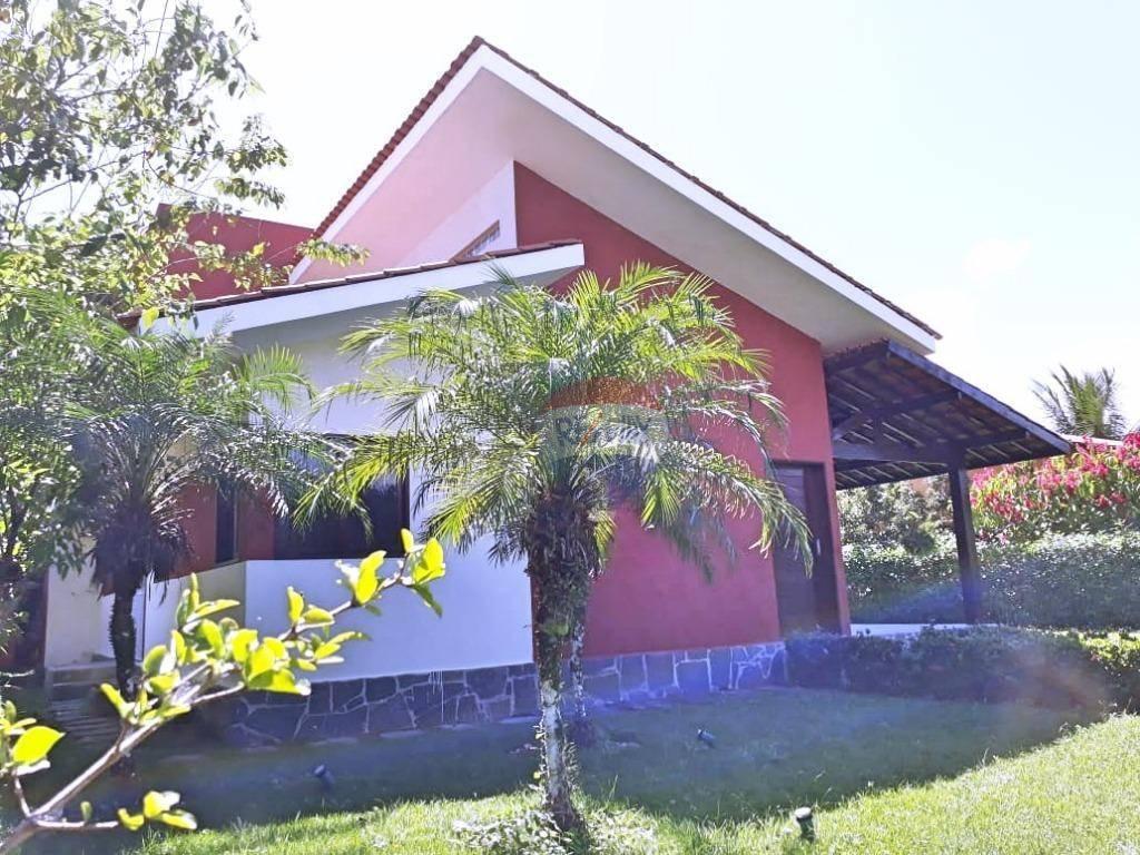 Casa aluguel em Aldeia, km 12, condomínio fechado.